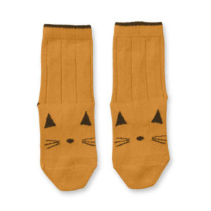"LIEWOOD Socken Silas in ""Cat mustard"" LW-12347-0024 - 01"