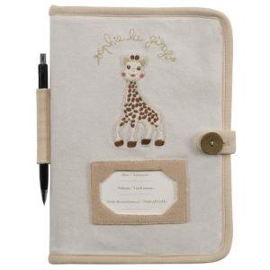 Mäppchen für Untersuchungsheft SO'PURE Sophie la girafe® 101-024-009 - 01