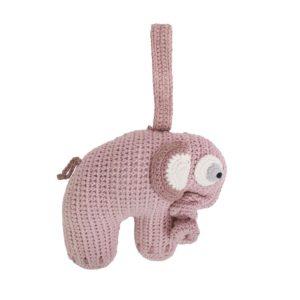 Sebra Häkel-Spieluhr, Elefant, mitternacht pflaume 3013204 - 01