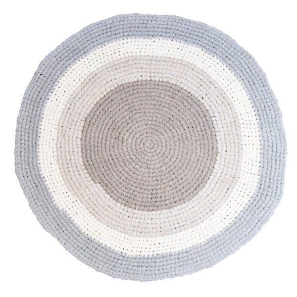 Sebra Teppich federbeige, Häkelteppich 4003305 - 01