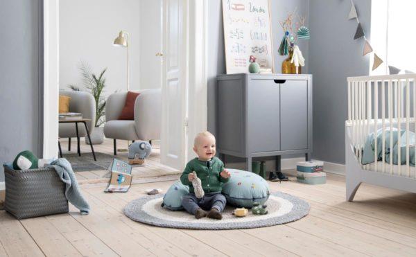 Sebra Teppich federbeige, Häkelteppich 4003305 - 02