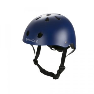 Banwood Kinderhelm blau (matt)
