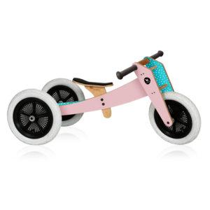 Wishbone Bike pink 3-in-1 Laufrad 01