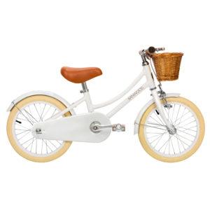 Banwood 16 Zoll Retro Kinder Fahrrad Classic White – weiß 00