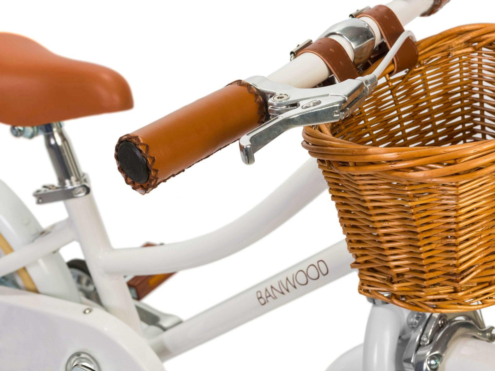 banwood 16 zoll retro kinder fahrrad classic white wei. Black Bedroom Furniture Sets. Home Design Ideas