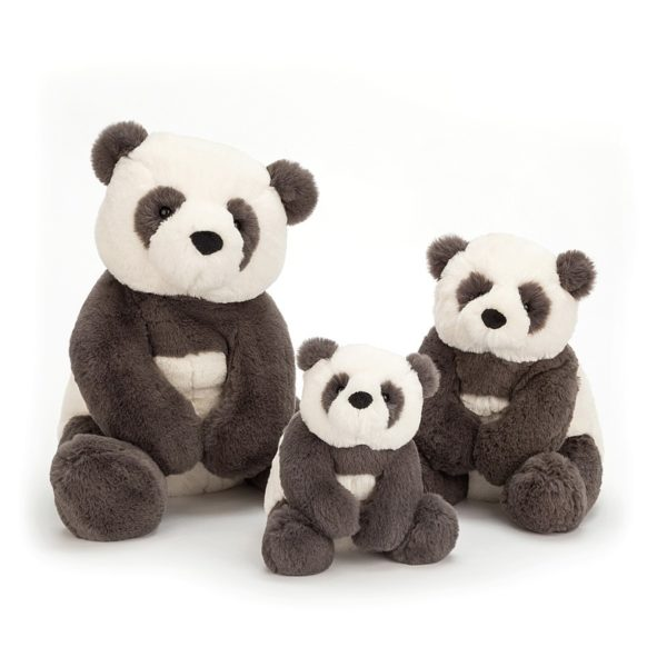 Jellycat Kuscheltier Harry Panda Cub (46cm : huge) 3er Set