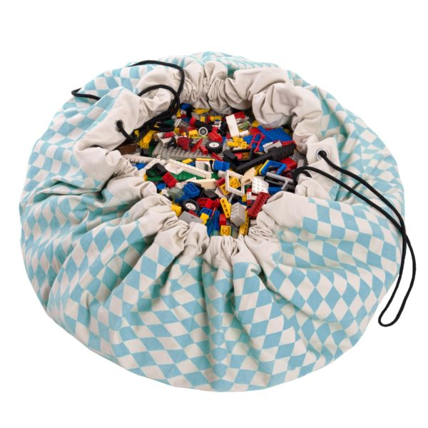 Play&Go Spielzeugsack Blue Diamonds (ø140cm) 01