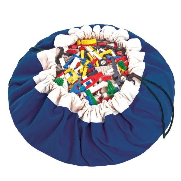 Play&GoSpielzeugsackClassic in blau (ø140cm)