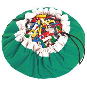 Play&GoSpielzeugsackClassic in grün (ø140cm) 01.jpg