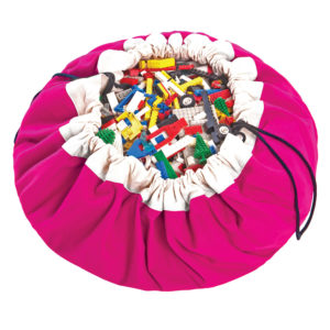 Play&Go Spielzeugsack Classic in pink (ø140cm) 01