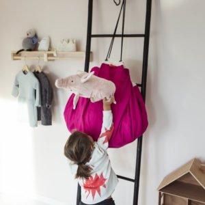 Play&GoSpielzeugsackClassic in pink (ø140cm) 04