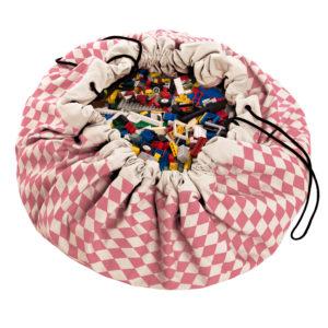 Play&GoSpielzeugsack Pink Diamonds (ø140cm) 01