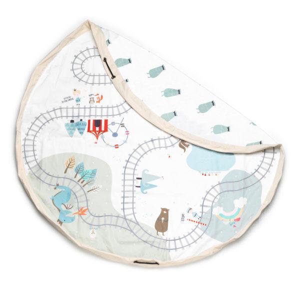 Play&GoSpielzeugsack Train (ø140cm) 01