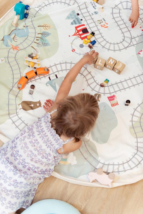 Play&GoSpielzeugsack Train (ø140cm) 08