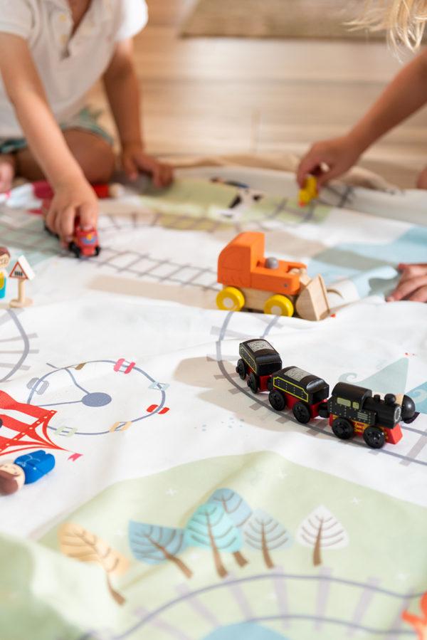 Play&GoSpielzeugsack Train (ø140cm) 10