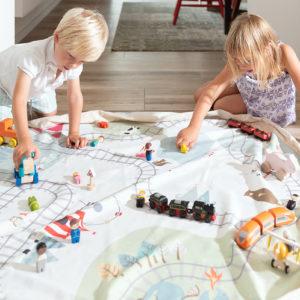 Play&GoSpielzeugsack Train (ø140cm) 13