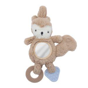 Sebra Activity-Spielzeug für Babyschale, Zappy, birchbark beige - 01