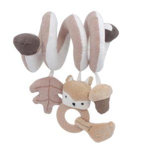 Sebra Aktivitätsspirale, Woodland, mushroom brown - 01