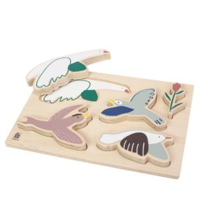 Sebra Holzpuzzle Singing Birds 33x23cm