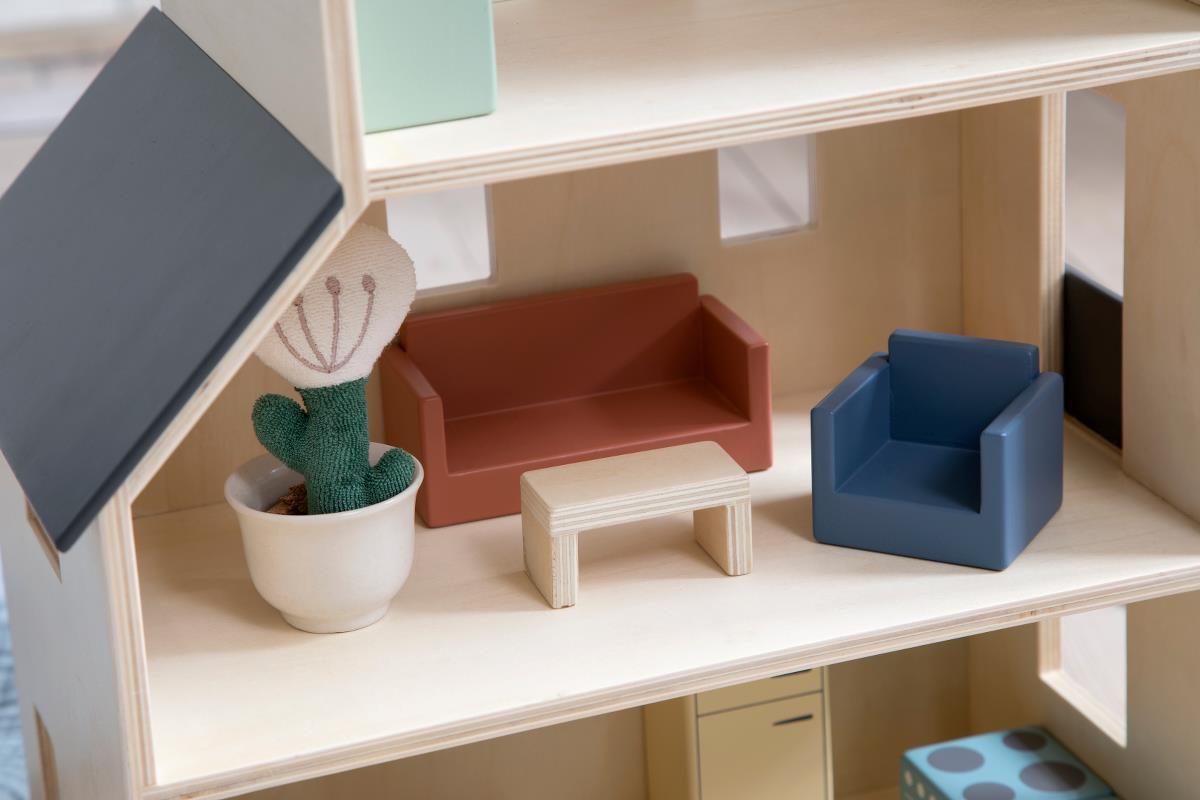 Sebra Puppenhaus Wohnzimmer