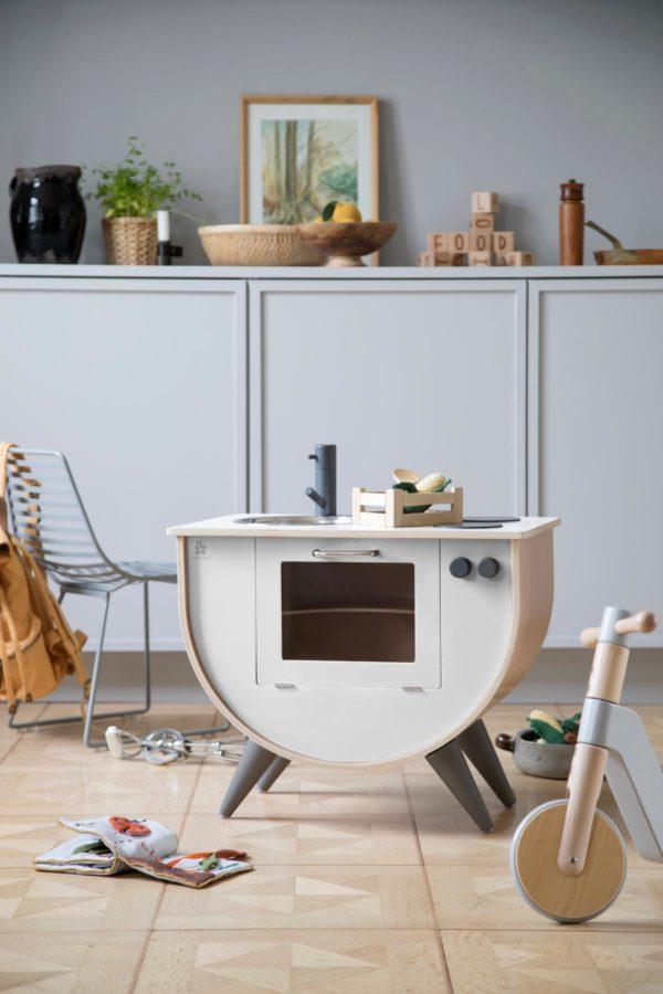 Sebra Spielküche, classic white, weiß 3005309 - 02