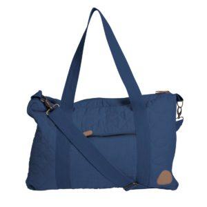 Sebra Wickeltasche mit Schultergurt, abgesteppt, royal blue außen