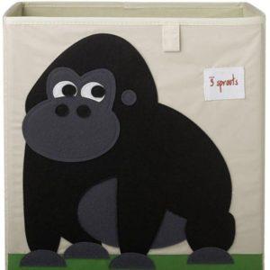 3 sprouts Aufbewahrungsbox Gorilla, 33cm