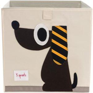 3 sprouts Aufbewahrungsbox Hund, 33cm