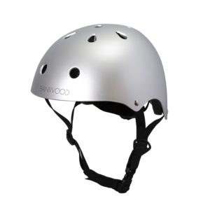 Banwood Kinderhelm chrome