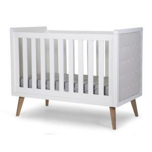 Childhome Babybett Retro Rio, 60x120cm, weiß 01