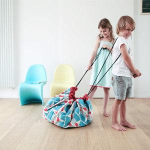 Play&GoSpielzeugsackAnchors Badminton (ø140cm) 03