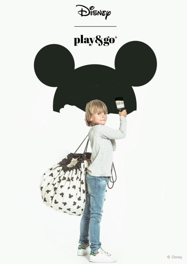 Play&GoSpielzeugsackDisney Mickey Black (ø140cm) 03