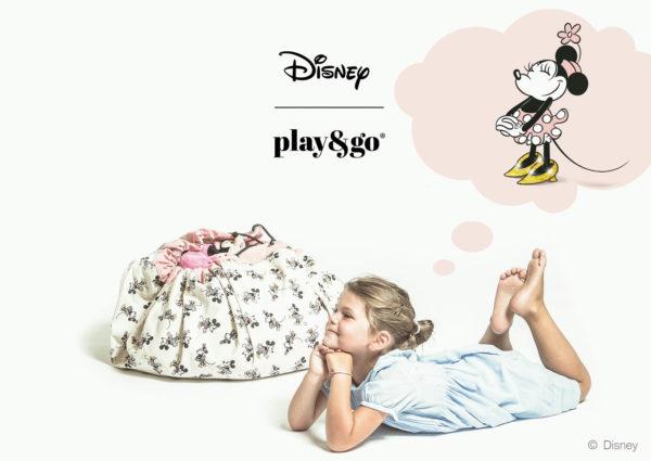 Play&GoSpielzeugsackDisney Minnie Gold (ø140cm) 01