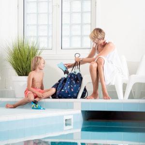 Play&GoSpielzeugsack SpielmatteBeach & Surf Outdoor (ø140cm) 01