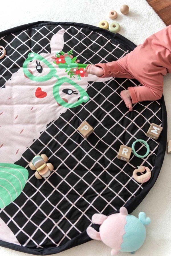 Play&GoSpielzeugsack SpielteppichLama Soft (ø120cm) 16