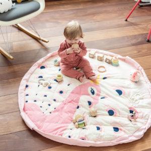 Play&GoSpielzeugsack SpielteppichPeacock Soft (ø120cm) 04