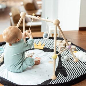 Play&GoSpielzeugsack SpielteppichPinguin Soft (ø120cm) 12