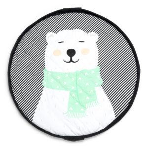 Play&GoSpielzeugsack SpielteppichPolar Bear Soft (ø120cm) 14