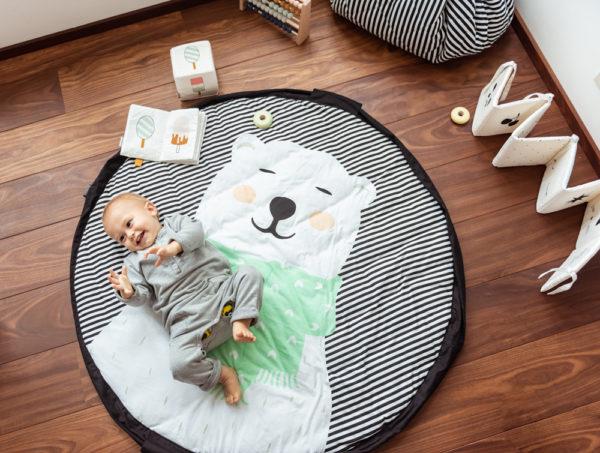 Play&GoSpielzeugsack SpielteppichPolar Bear Soft (ø120cm) 17
