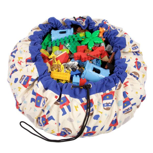 Play&GoSpielzeugsackSuper Hero (ø140cm) 01