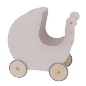 Sebra Puppenkinderwagen aus Holz, dusty pink 01