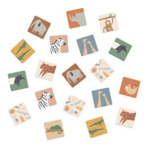 Sebra Wildlife Memory in der Box 01