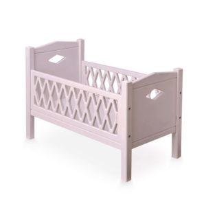"""Cam Cam Puppenbett Harlekin""""Blossom Pink"""", rosa"""