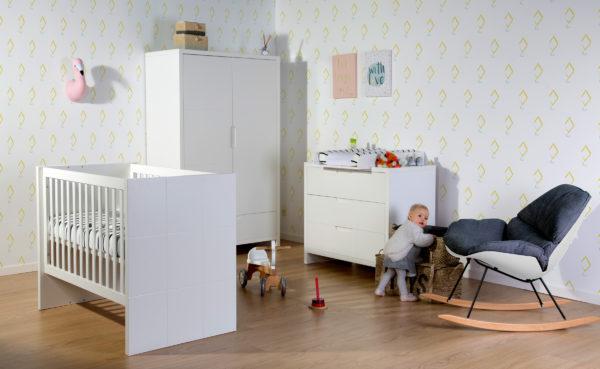 Childhome Babyzimmermöbel-Serie Quadro 01