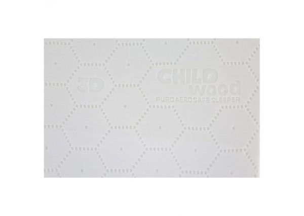 Childhome Puro Aero Safe Sleeper Matratze 60x120 cm, Oeko-Tex 03