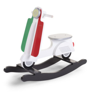Childhome Schaukelpferd Scooter Italy im Vespa-Look