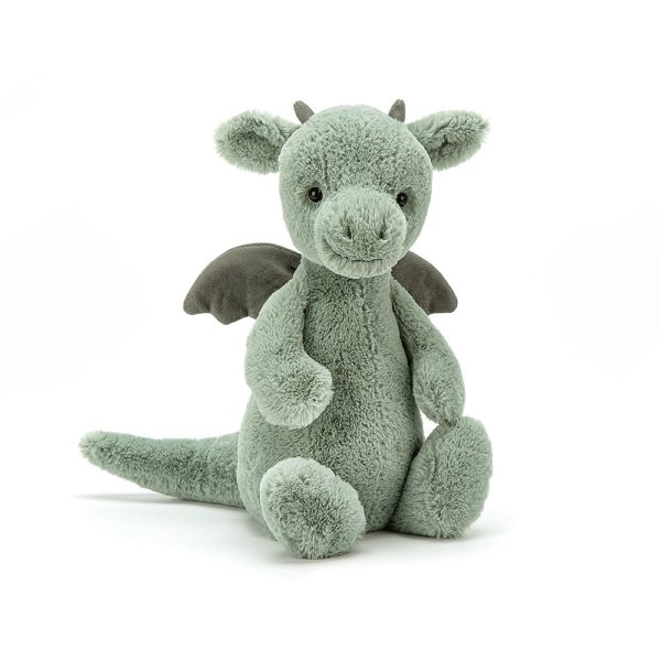 Jellycat Kuscheltier Bashful Dragon 31 cm (medium)