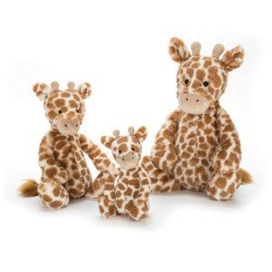 Jellycat Kuscheltier Bashful Giraffe alle Größen