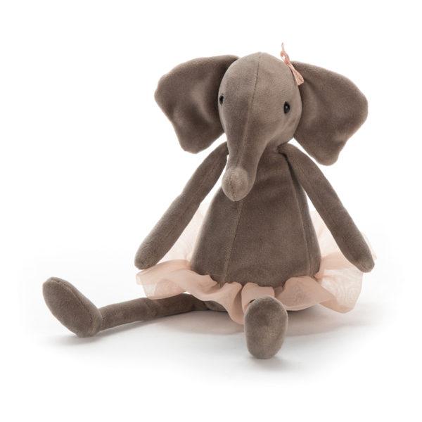 Jellycat Kuscheltier Dancing Darcey Elephant 23 cm 01