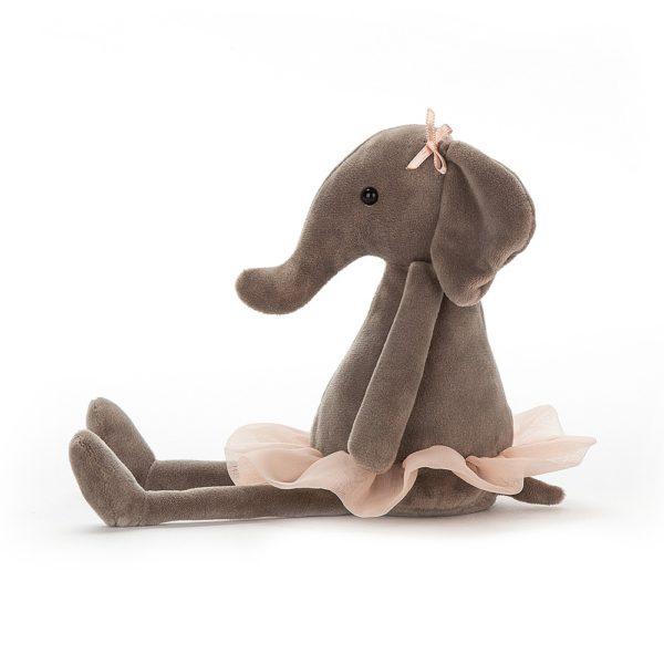 Jellycat Kuscheltier Dancing Darcey Elephant 23 cm 02